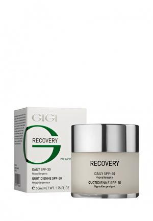Крем для лица восстанавливающий Gigi. Цвет: белый