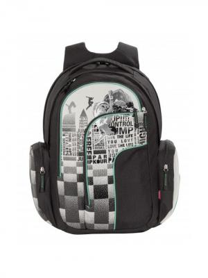Рюкзак 4YOU MOVE ПАРКУР. Цвет: черный, серый