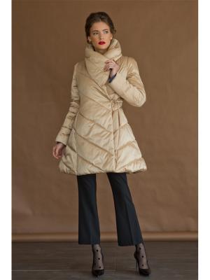 Пальто Tsurpal. Цвет: золотистый