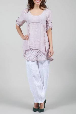 Блуза La Belle Helene. Цвет: розовый
