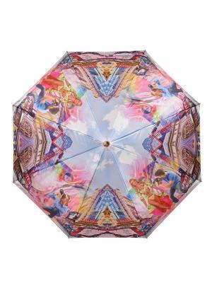 Зонт Podium DAIS. Цвет: лазурный, фуксия