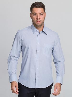 Рубашка John Jeniford. Цвет: голубой
