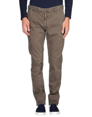 Повседневные брюки ORIGINAL VINTAGE STYLE. Цвет: хаки