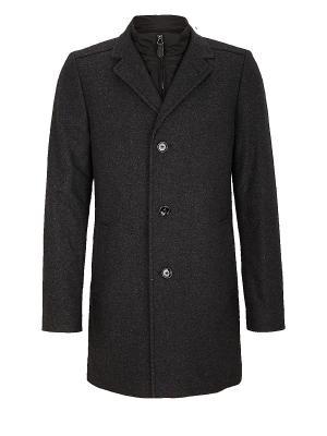 Пальто S.OLIVER. Цвет: темно-серый