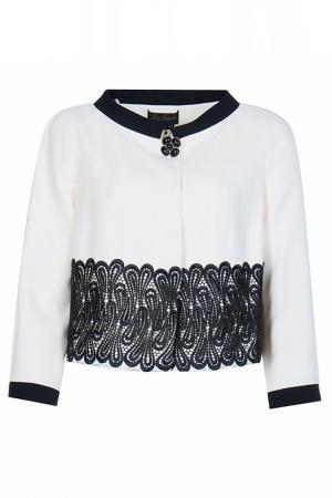 Пиджак Luisa Spagnoli. Цвет: белый