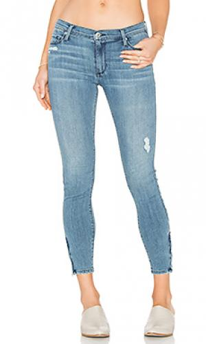 Узкие джинсы с молнией amber Black Orchid. Цвет: none