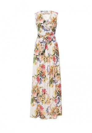 Платье Bezko. Цвет: разноцветный