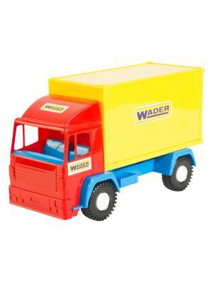 Middle truck машинка ТИГРЕС. Цвет: желтый, синий, красный