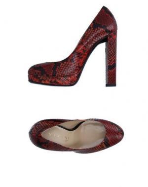 Туфли VICINI TAPEET. Цвет: кирпично-красный