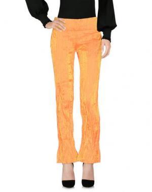 Повседневные брюки MARTINA SPETLOVA. Цвет: оранжевый