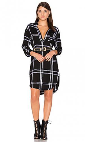 Платье bianca Rails. Цвет: black & white