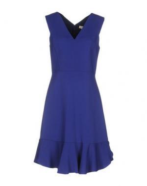 Платье до колена REBECCA TAYLOR. Цвет: фиолетовый