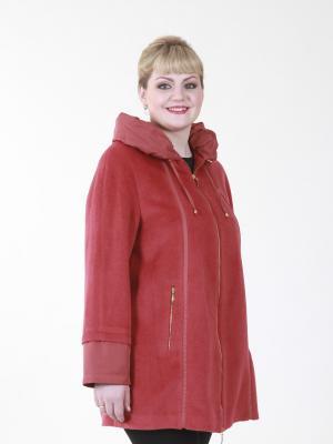 Пальто Перла VIKO. Цвет: красный