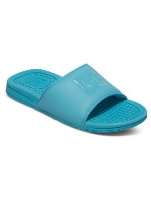 Пантолеты DC Shoes. Цвет: голубой