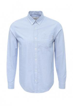 Рубашка Carhartt. Цвет: голубой