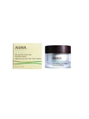 Time To Smooth Антивозрастной ночной крем для выравнивания цвета кожи 50 мл AHAVA. Цвет: прозрачный