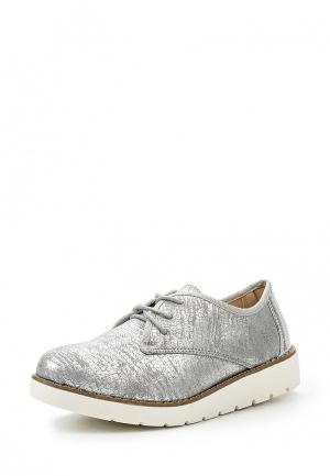 Ботинки Guapissima. Цвет: серебряный