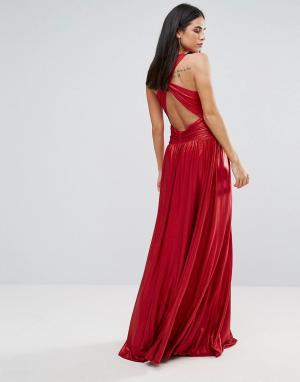 Forever Unique Платье макси. Цвет: красный