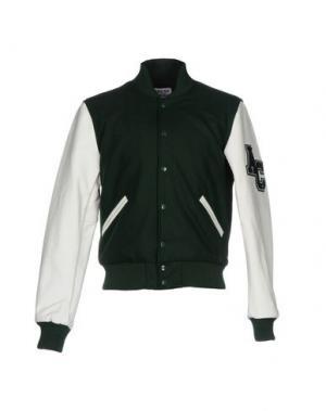Куртка AMERICAN COLLEGE. Цвет: зеленый