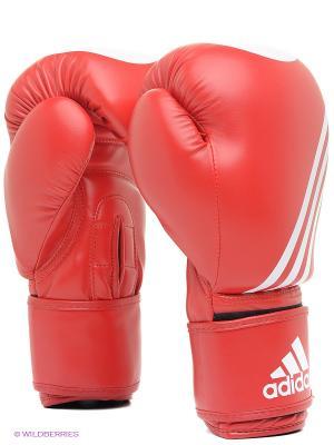 Перчатки для кикбоксинга Ultima Target WACO Adidas. Цвет: красный
