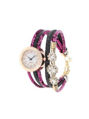 Браслет-часы Olere. Цвет: золотистый, розовый, черный