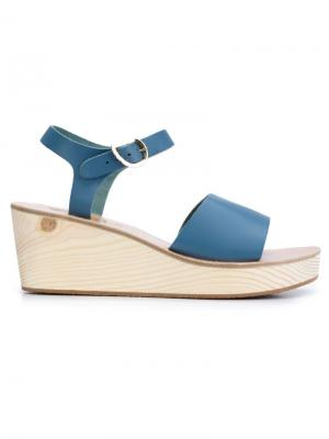 Босоножки Thalpori Ancient Greek Sandals. Цвет: синий