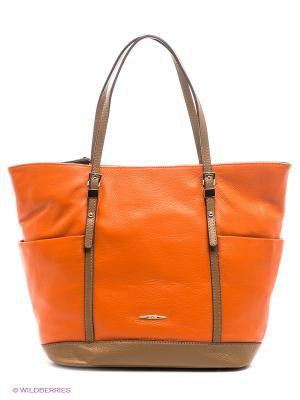 Сумка Eleganzza. Цвет: оранжевый