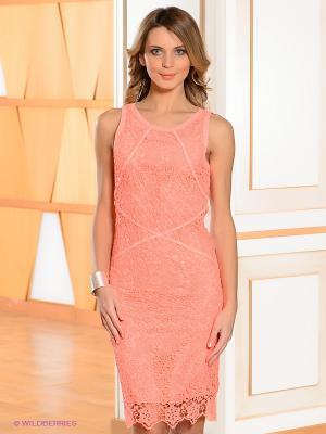 Платье Bandolera. Цвет: коралловый