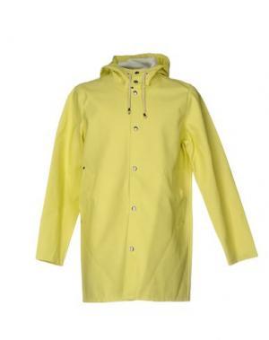 Легкое пальто STUTTERHEIM. Цвет: светло-желтый