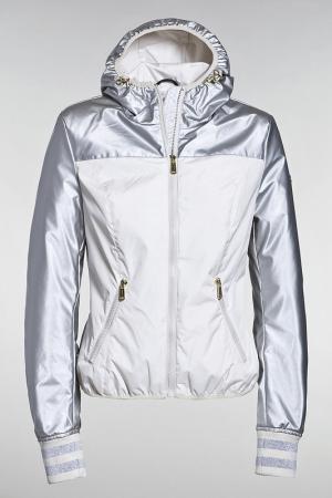 Куртка Goldbergh. Цвет: серебряный