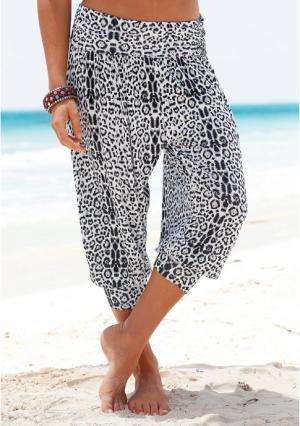 Пляжные шаровары VENICE BEACH. Цвет: леопардовый