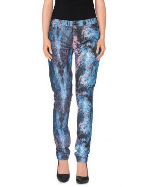 Повседневные брюки HUDSON. Цвет: синий