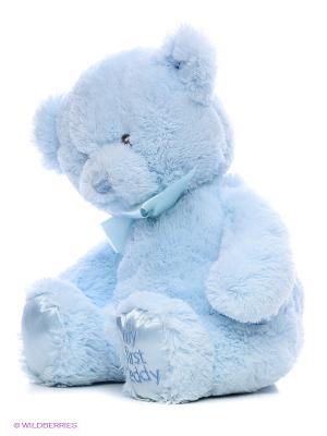 Игрушка мягкая My first Teddy Gund. Цвет: голубой