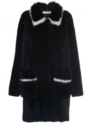 Пальто Aquavit Inès & Maréchal. Цвет: чёрный