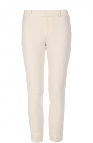 Шерстяные брюки прямого кроя Ralph Lauren. Цвет: кремовый