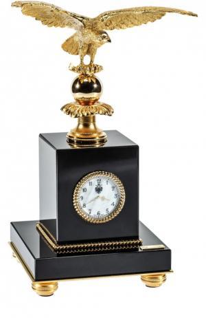 Часы настольные с орлом Tsar. Цвет: бесцветный