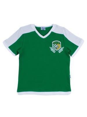 Футболка Апрель. Цвет: зеленый