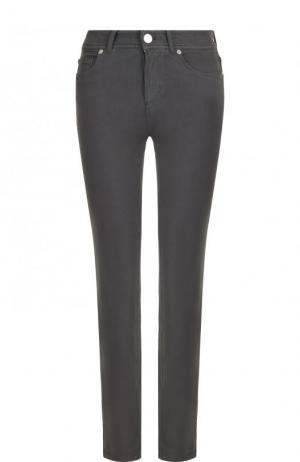 Укороченные джинсы Loro Piana. Цвет: серый