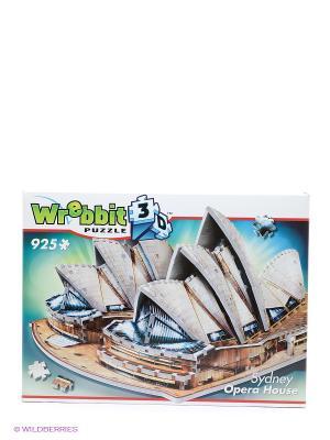 Пазл 3D Сидней Opera House Wrebbit3D. Цвет: синий, коричневый, бежевый