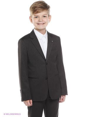 Пиджак Nota Bene. Цвет: серый