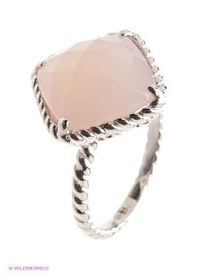 Кольцо BALEX. Цвет: серебристый, розовый