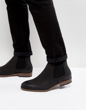 New Look Черные ботинки челси. Цвет: черный