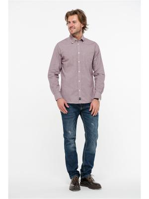 Рубашка для мужчин Westrenger. Цвет: коричневый