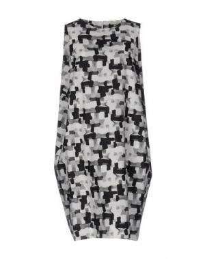 Платье до колена GUGLIELMINOTTI. Цвет: белый
