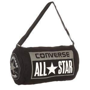 Сумка спортивная  Legacy Duffel Black Converse. Цвет: черный