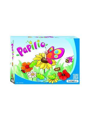 Развивающая игра Бабочка Папилио Beleduc. Цвет: светло-голубой