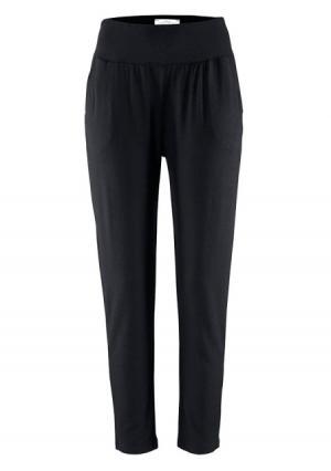 Пляжные брюки Lascana. Цвет: черный