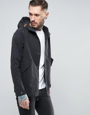 Penfield Черная непромокаемая куртка Davenport. Цвет: черный