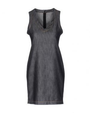Короткое платье NEW YORK INDUSTRIE. Цвет: синий