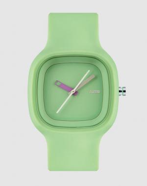 Наручные часы ALESSI. Цвет: светло-зеленый